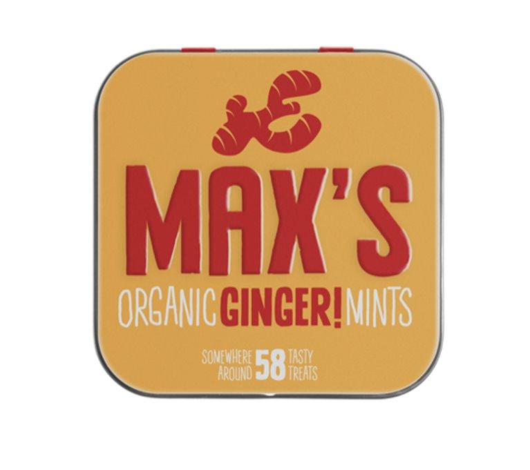 Max's Mints Jengibre