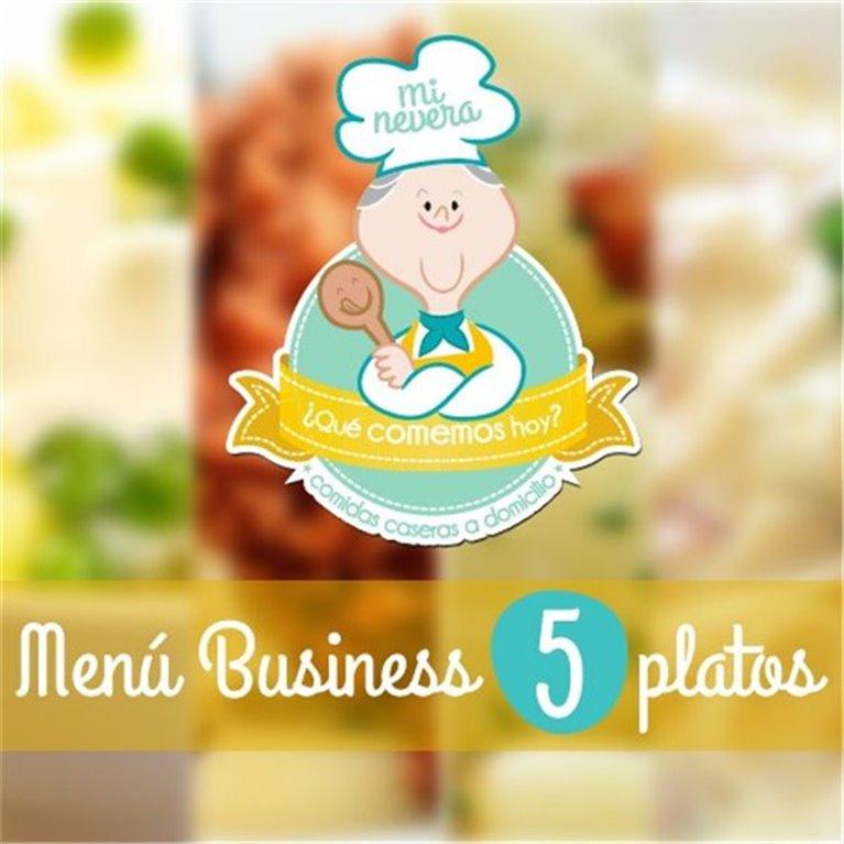 Menú Business de 5 platos