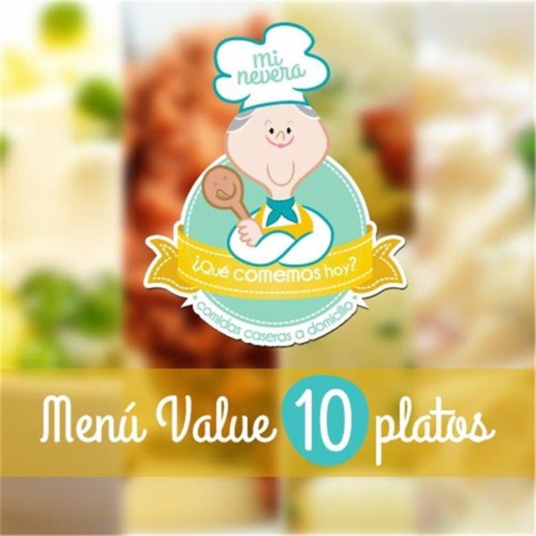 Menú Value de 10 platos