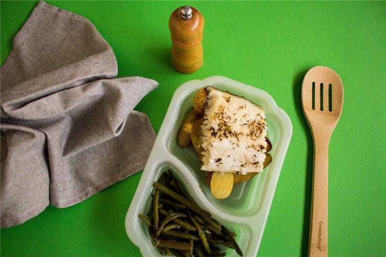 Merluza con patatas y judías (H5)