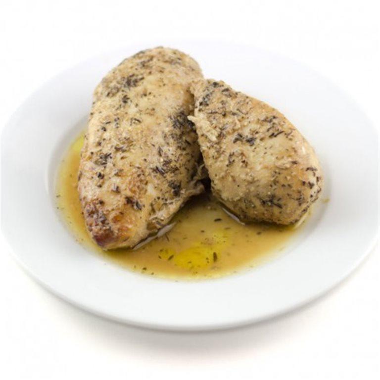 Muslo o Pechuga de Pollo al Horno