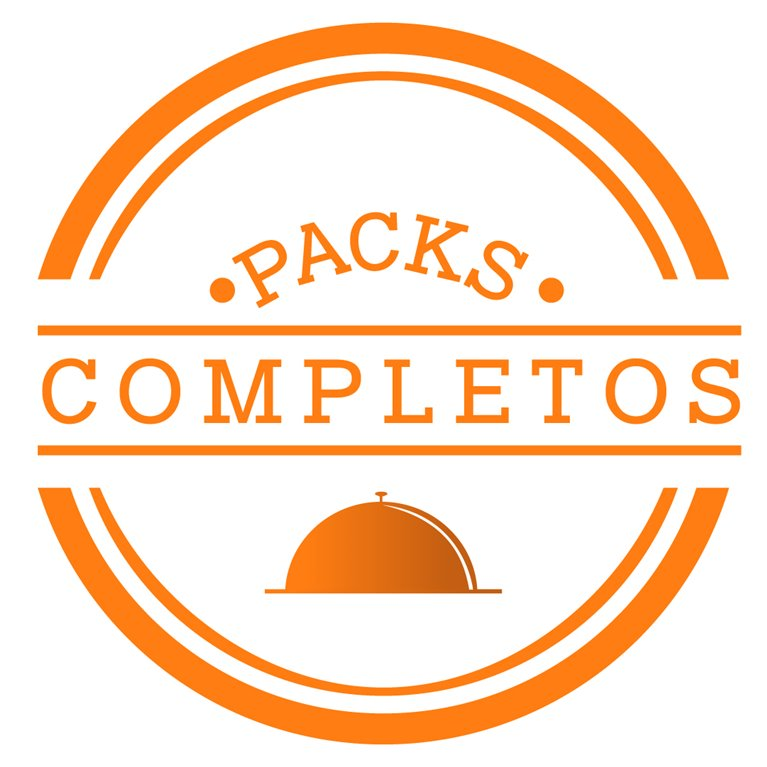 Pack completo A – 20platos, 1 ud