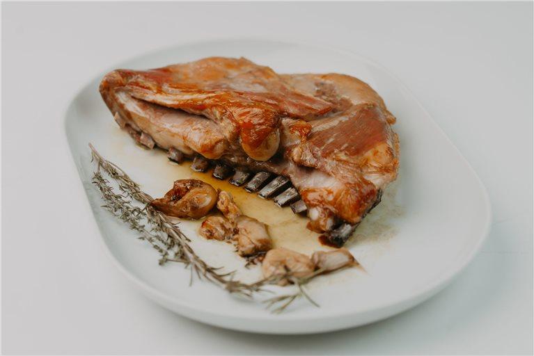 Pack costillar de cordero + timbal de morcilla + queso + jamón