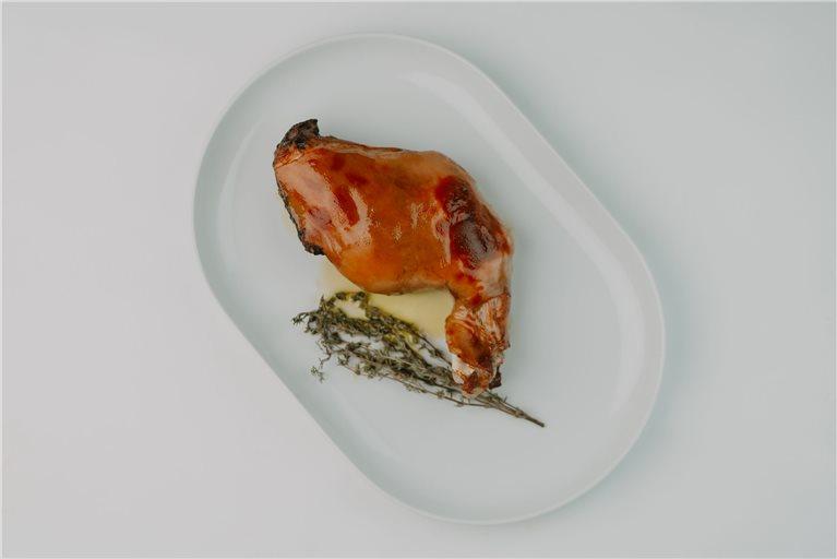 Pack pierna de lechón + timbal de morcilla + queso + jamón