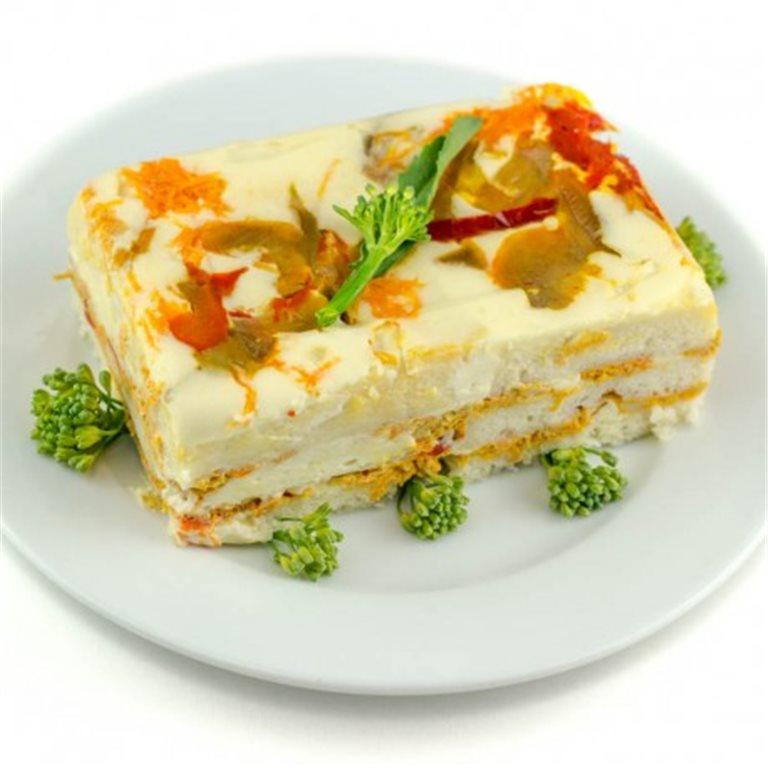Pastel Vegetal Sin Gluten
