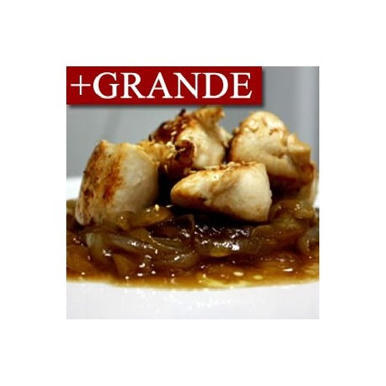 Pechuga de Pollo al Estragón con Cebolla Caramelizada +GRANDE