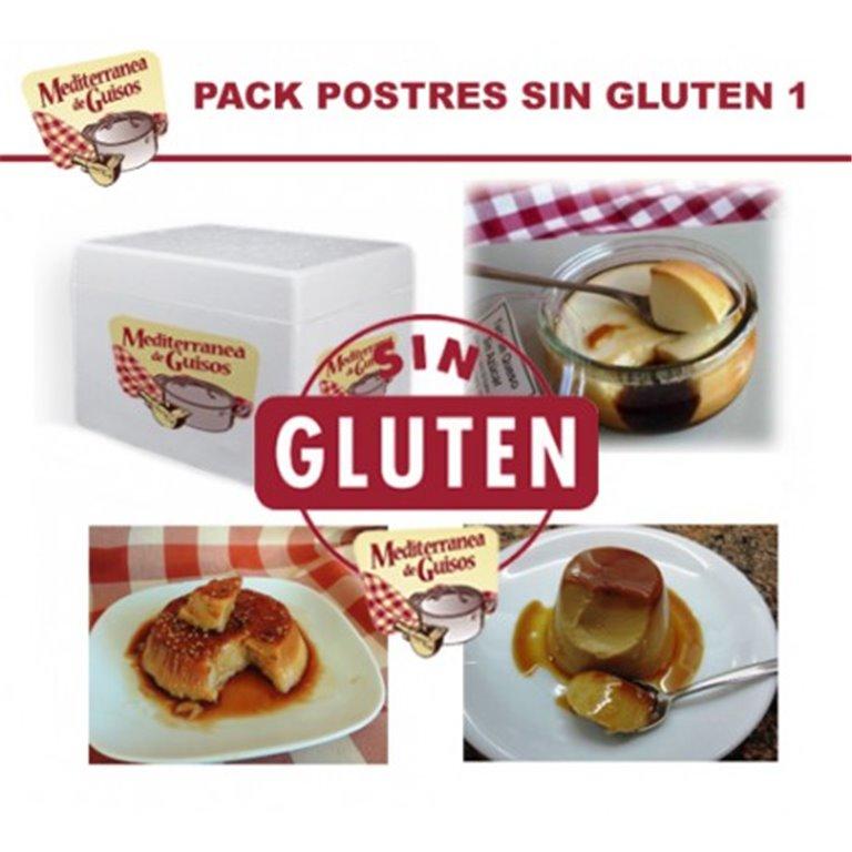 Postres Pack Sin Gluten 1 (7 Postres). CERTIFICADO POR ASPROCESE.