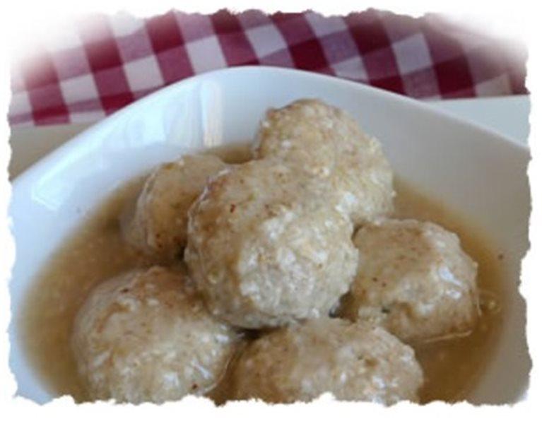 (PP) Albóndigas de Pollo en Salsa
