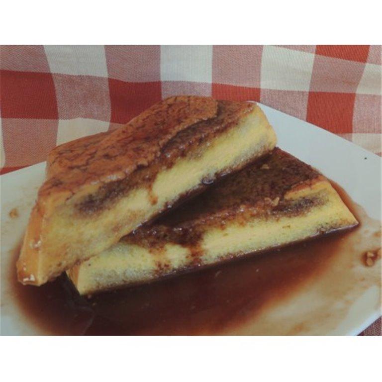 Pudding de calabaza con chocolate sin azúcar