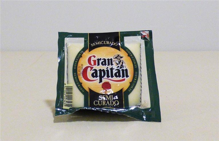 Queso semicurado Gran Capitán
