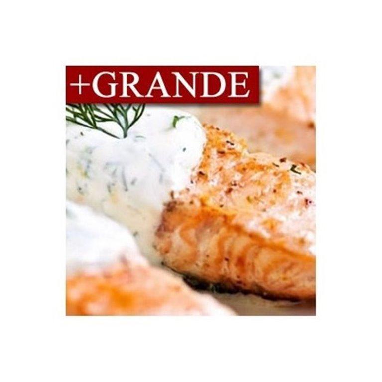 Salmón en Salsa de Yogur y Eneldo +GRANDE