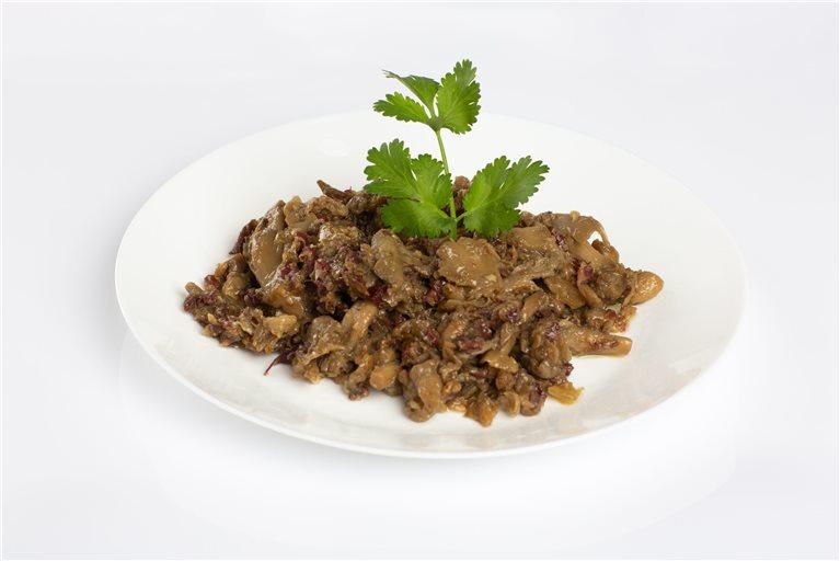 Salteado de setas con paleta 100% ibérica bellota COVAP