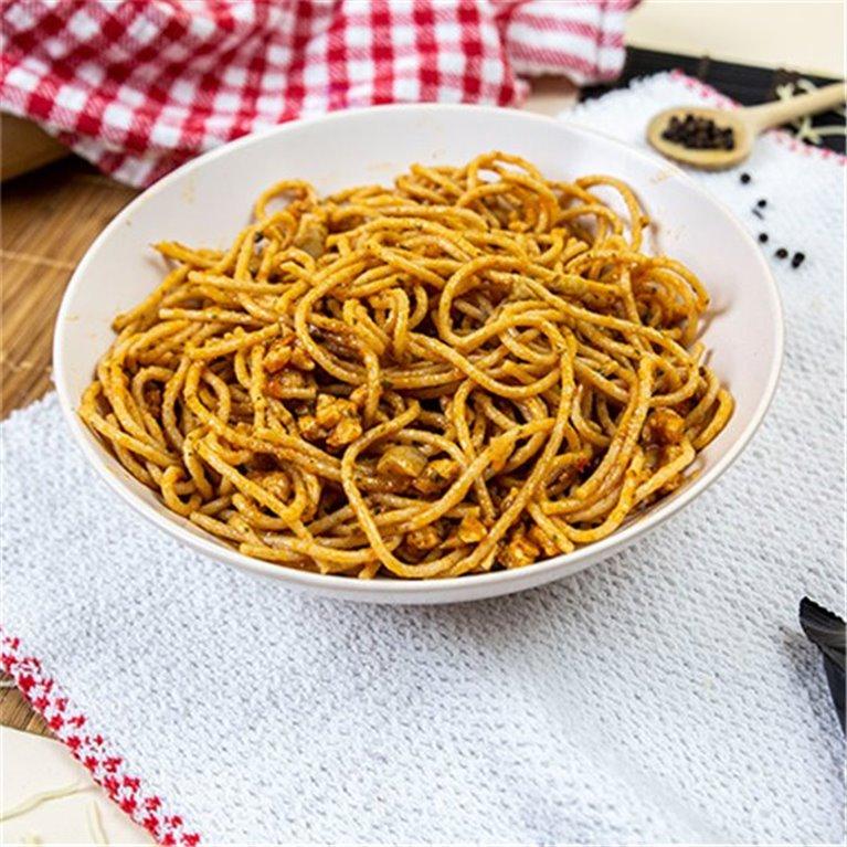 Spaghetti proteico PY a la boloñesa