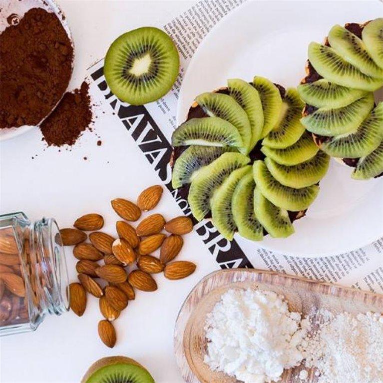 TartaFit con Kiwi