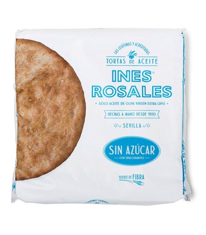 Torta de aceite sin azúcar Ines Rosales - 4 ud - 120 g.