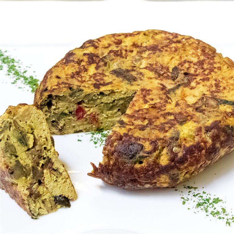 Tortilla de berenjena 1250gr, 1 ud