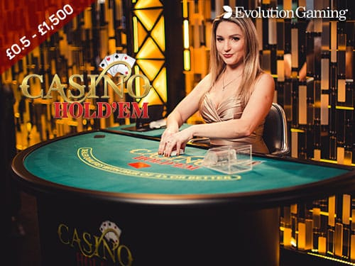 Evolution Live Casino Holdem Live Casino Aspers Casino Online