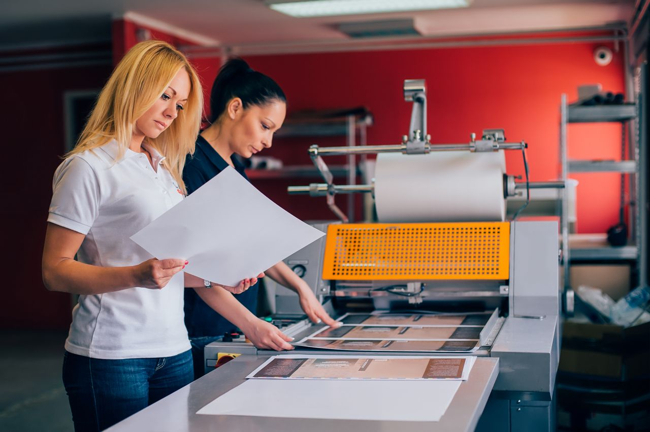cheap brochure printing services by Radford Press London