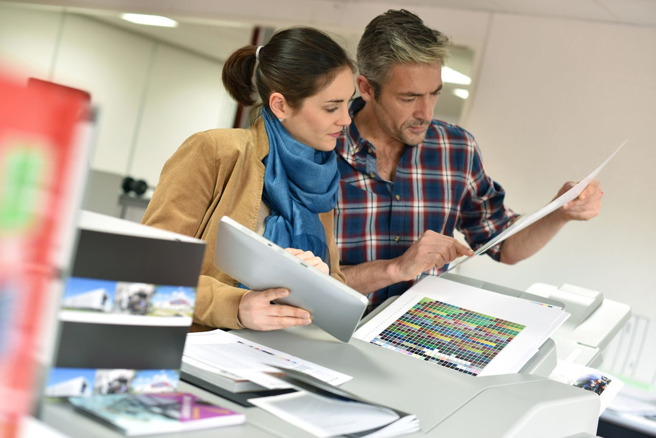 cheap flyer printing services by Radford Press London
