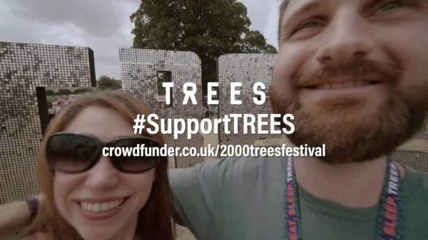 Charity Donation KEEP THE DREAM ALIVE - Support 2000trees Festival