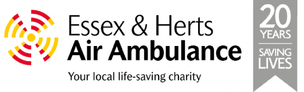 Charity Donation Essex & Herts Air Ambulance