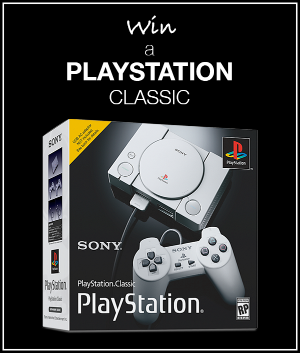 Enter Raffle to Win Sony PlayStation Classic Hosted By Alpha