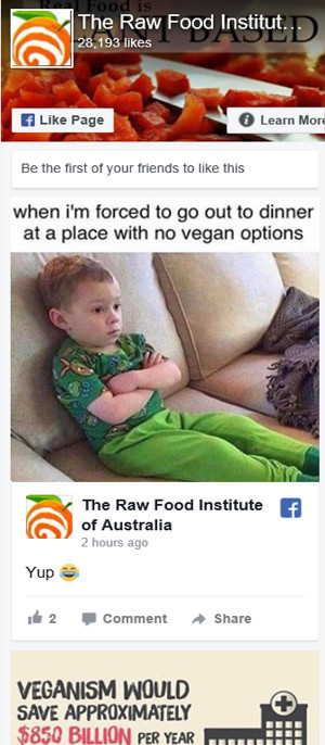 Raw Food Institute of Australia - FB