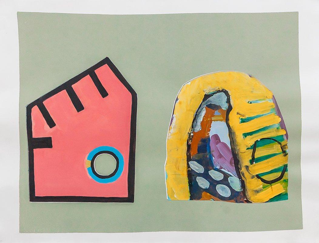 Two Houses<span>Copyright Gabrielle Lockwood Estrin</span>