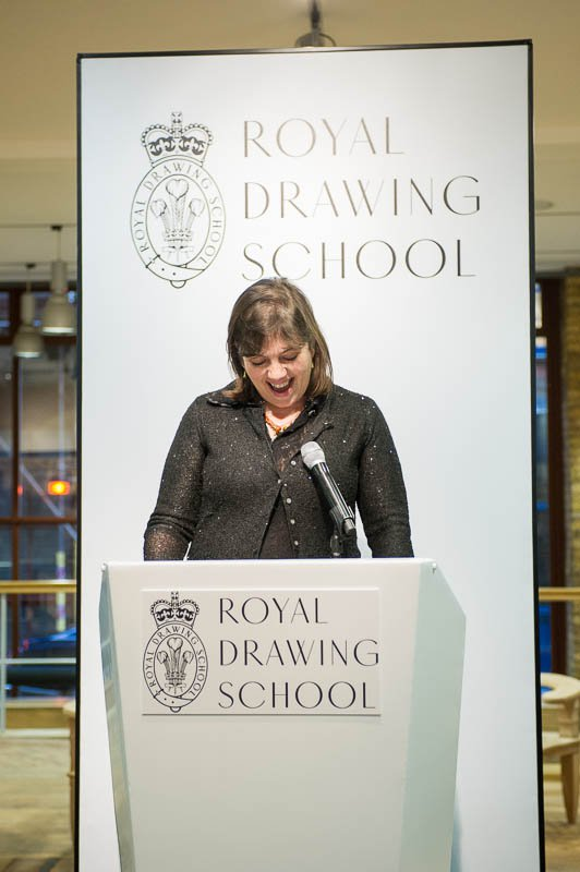Royal Drawing School Announcement Display
