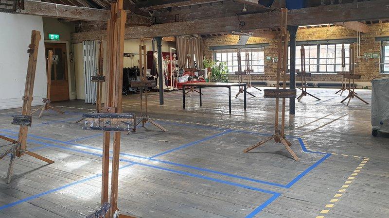 Covid studios