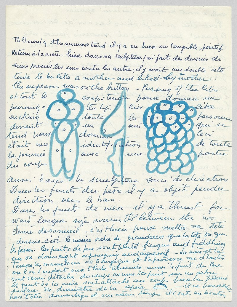 Louise Bourgeois: Drawing As Psychological Release - Jerry Gorovoy and Philip Larratt-Smith in conversation
