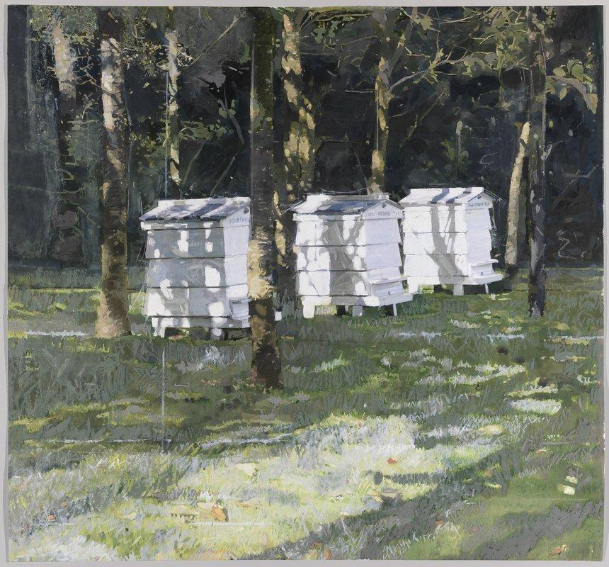 Beehives at Little Sparta<span>Copyright Eileen Hogan</span>