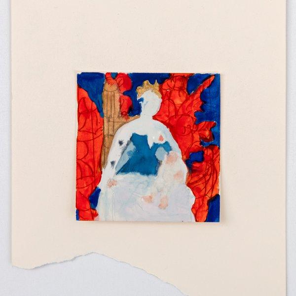After Jean Fouquet's Madonna