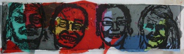 4 Faces<span>Copyright Maggie Jennings</span>