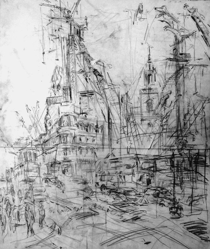 Poultry Sketch<span>Copyright Jeanette Barnes</span>