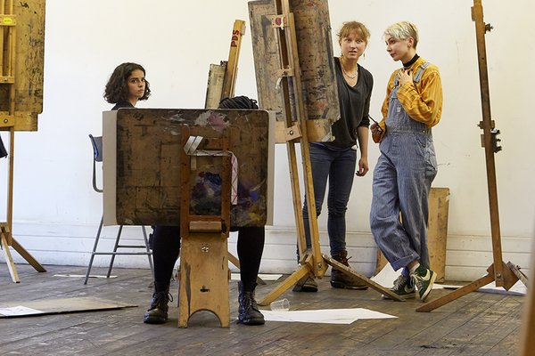 Young Associates programme for young artists