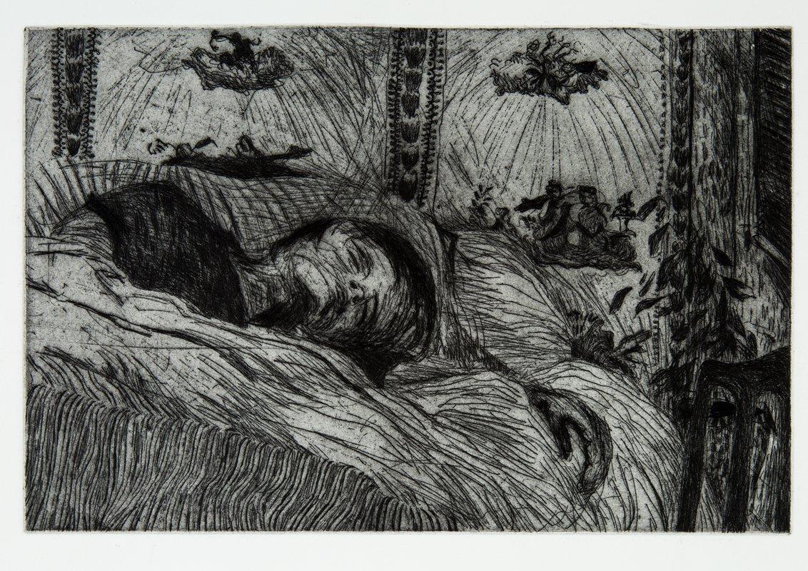 Lily Sleeping<span>Copyright Tyga Helme</span>