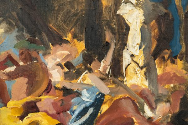 A bacchanal (after Poussin)Stephanie Forrest.jpg