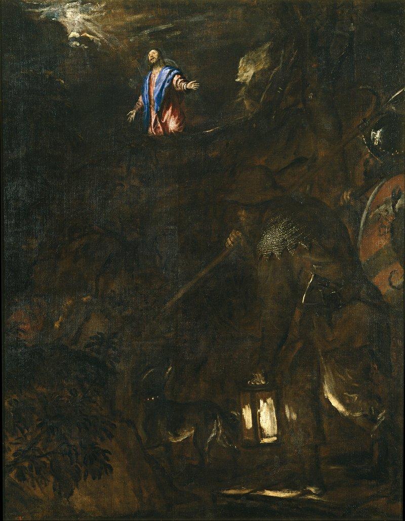Agony in the Garden, Titian