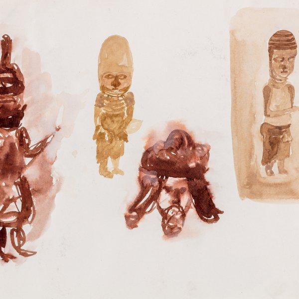 Drawing in British Museum