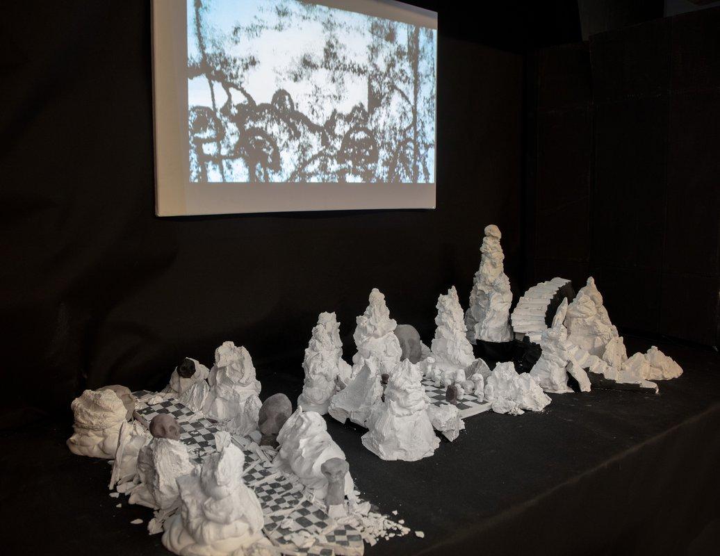 The Foundation Year 2018-19 Exhibition<span>Copyright Bella Blazwick-Noble</span>