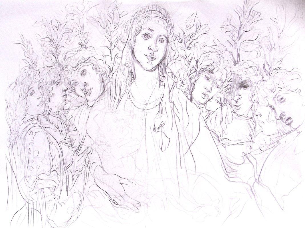Botticelli Copy<span>Copyright Hannah Murgatroyd</span>