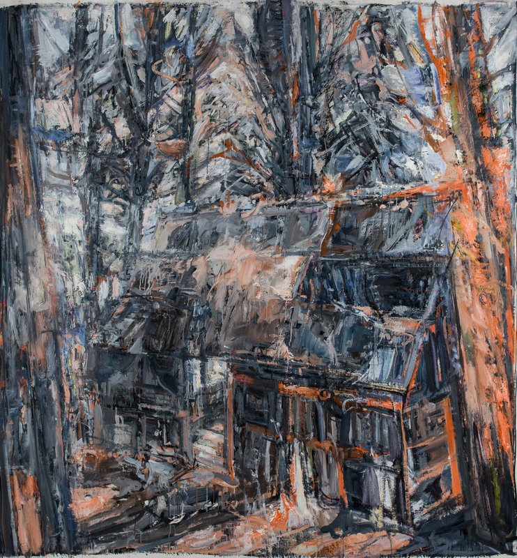 <h3>the last house in the world</h3><span>2015-16 | Oil on canvas | 184 x 170 cm</span>