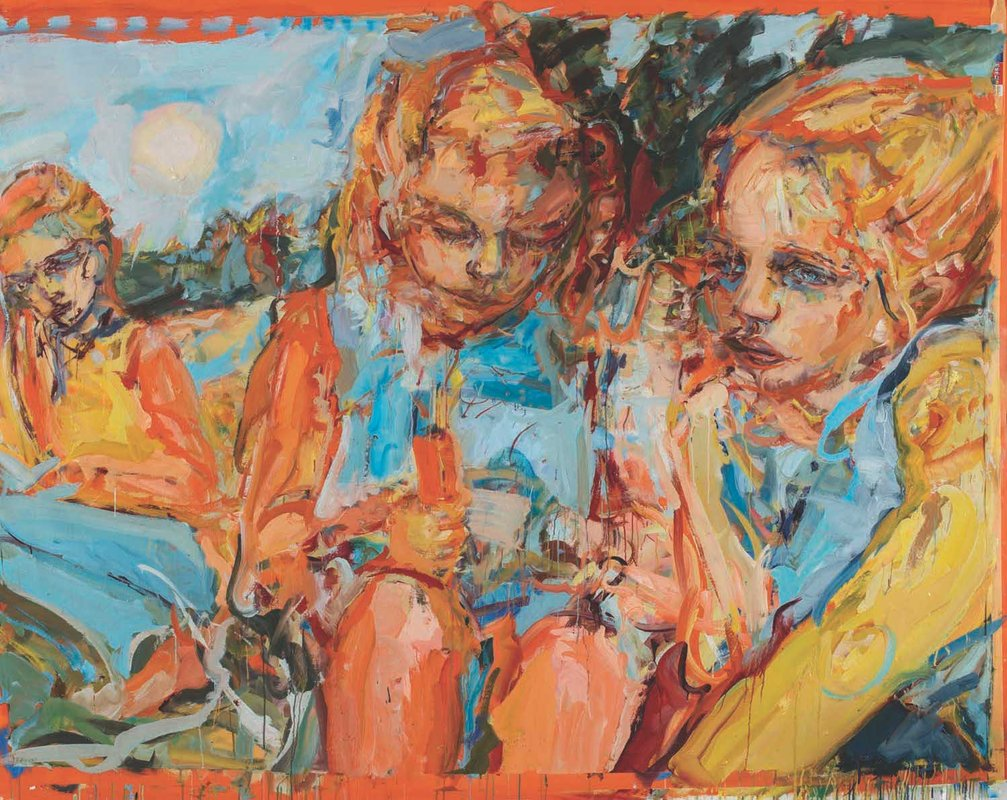 <h3>The Girls</h3><span>oil on linen | 180x235cm</span>