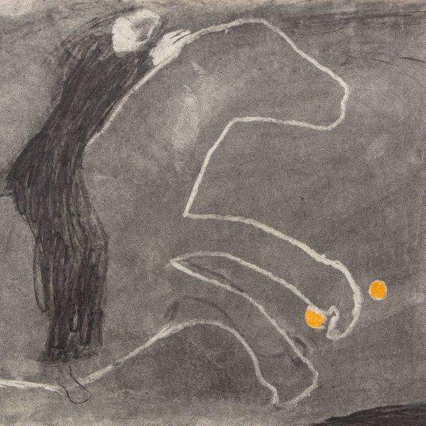 Orange Horse Rider