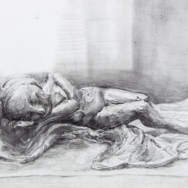'Girl, sleeping'