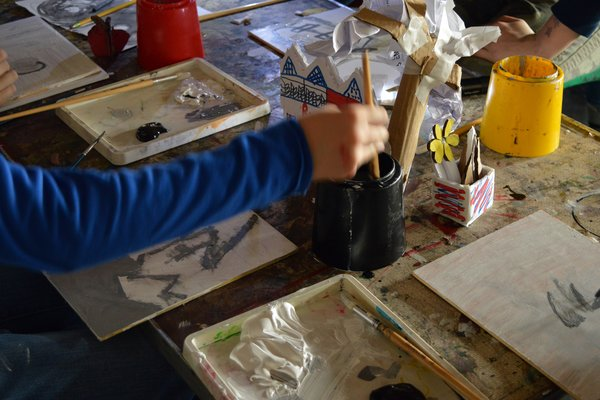 Create your own book / Young Artists Summer School