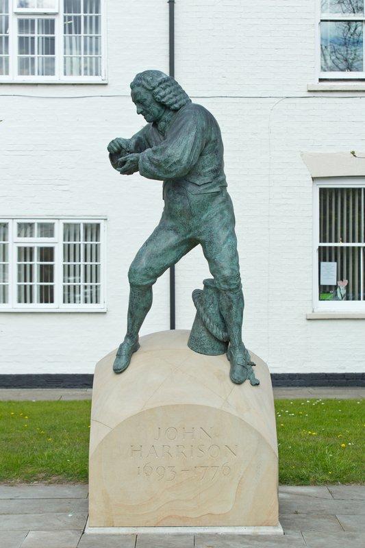 John Harrison statue - Barrow-upon-Humber<span>Copyright Marcus Cornish</span>