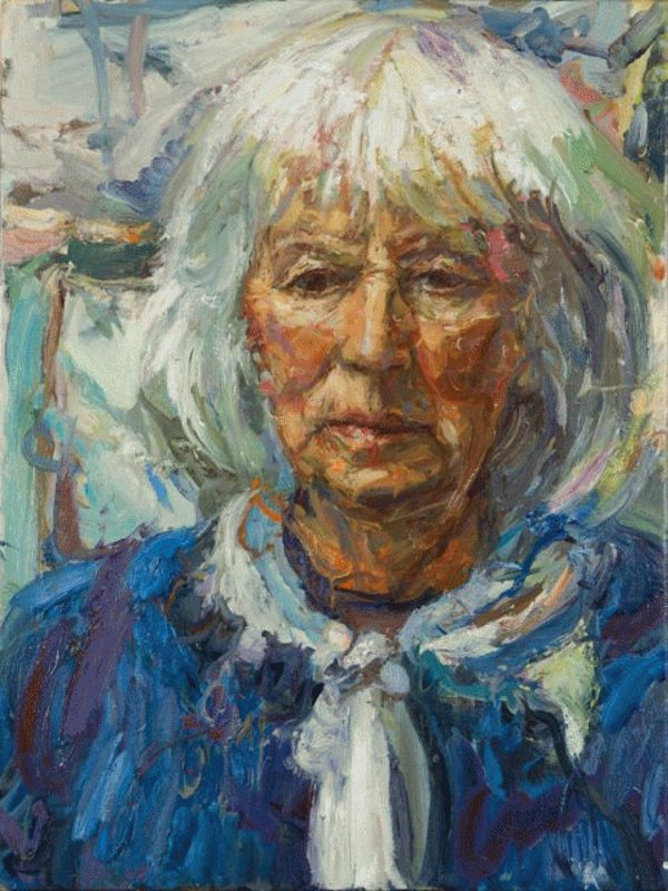 <h3>Mary Keen, The Gardener</h3><span>2013-14 | Oil on canvas | 1020 x 760 mm</span>