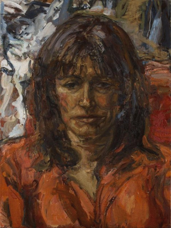 <h3>Daisy Goodwin, The Broadcaster and Author</h3><span>2012-14 | Oil on canvas | 1020 x 760 mm</span>